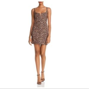 NEW Likely Leopard Constance Mini Dress